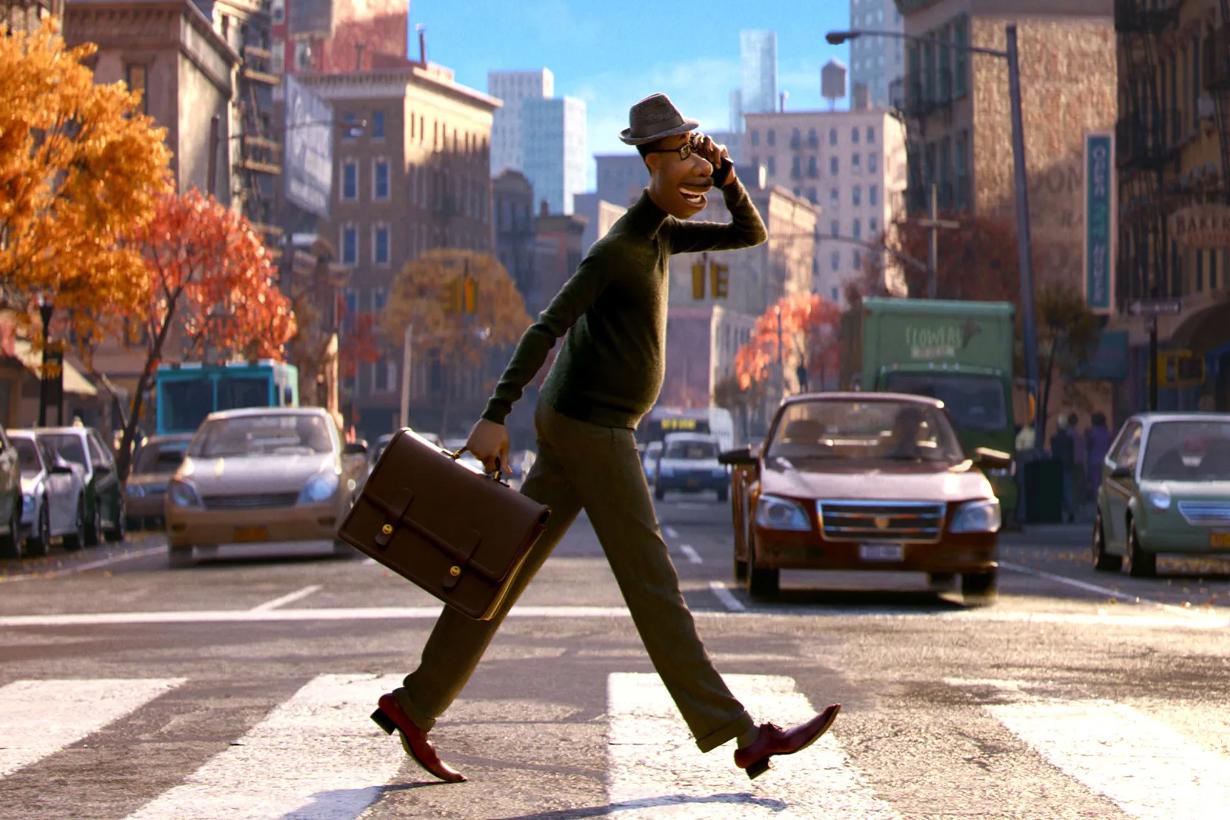 Soul Disney Pixar Cartoon Movie Inside Out Coco Life Lesson Spark  78th Golden Globe Awards  Best Animated Feature Film Best Original Score