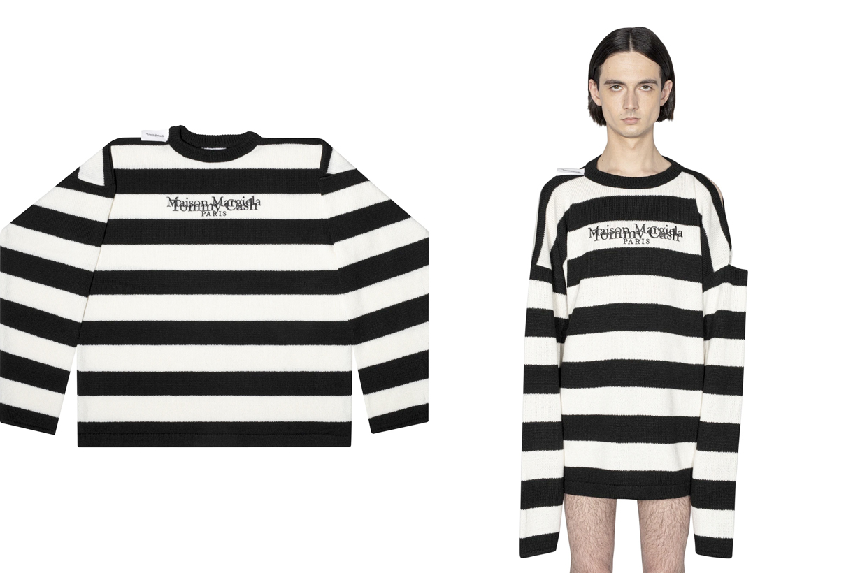 tommy cash maison margiela 2021 bread loafer instant noodles t-shirt sweater where buy