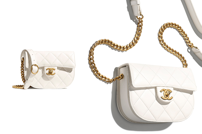 Chanel Mini Messenger Bag 2021 ss