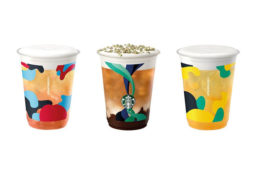 Starbucks 2021 summer tea cakes