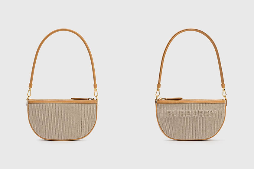 Burberry spring Canvas Olympia Pouch Handbags