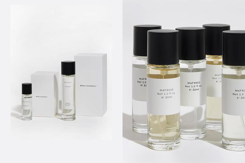 Mihan Aromatics Australia Vegan and natural base parfums