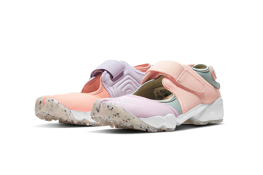 Nike Air Rift Crimson Bliss Infinite Lilac Terra Blush White Sneaker Spring