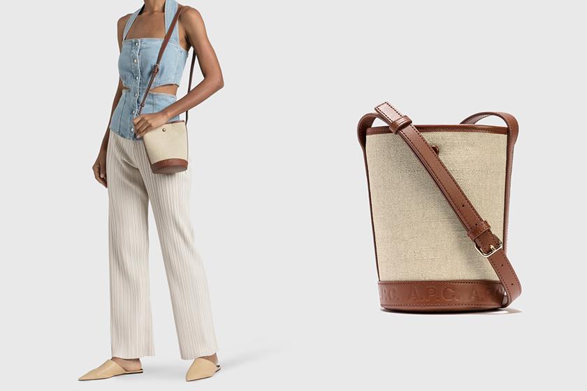 APC Helene Bag Canvas 2021 ss Handbags