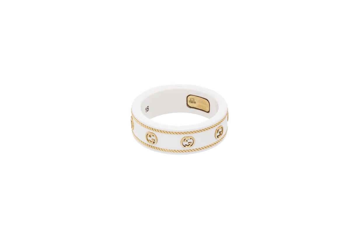 2021 Spring Summer Fashion trends accessories trends logo ring Maison Margiela MM6 Maison Margiela Fendi  Tory Burch Gucci Off-White Alexander McQueen VETEMENTS