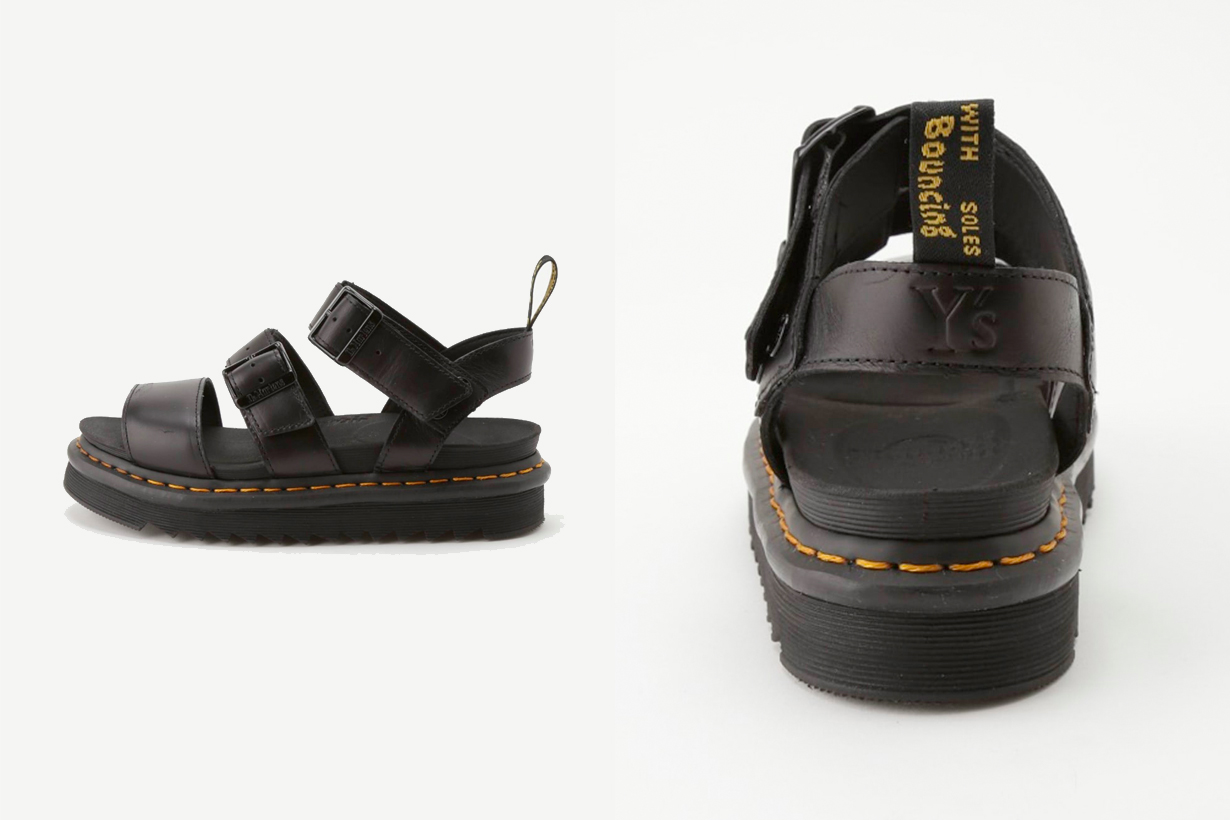 dr. martens y's gryphon shoes when where collabration