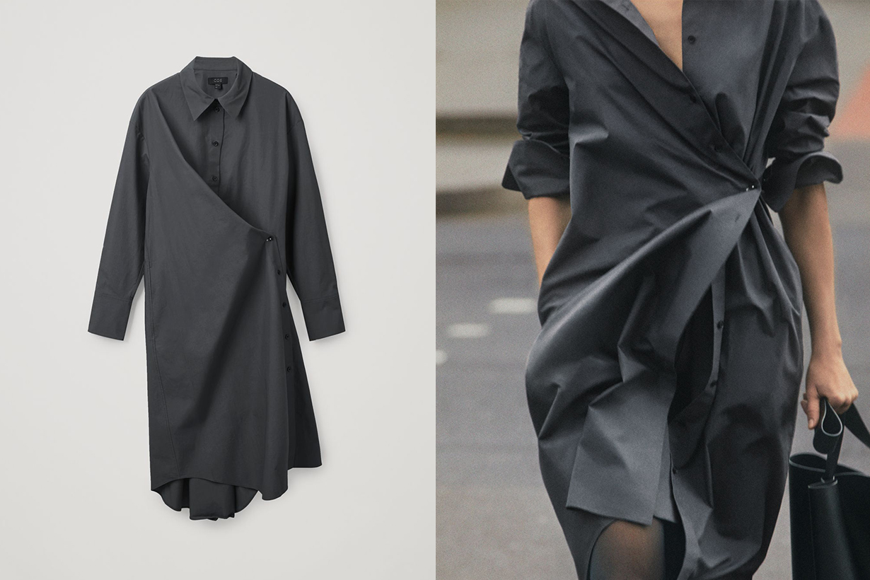 COS Wrap Shirt hot items 2021ss
