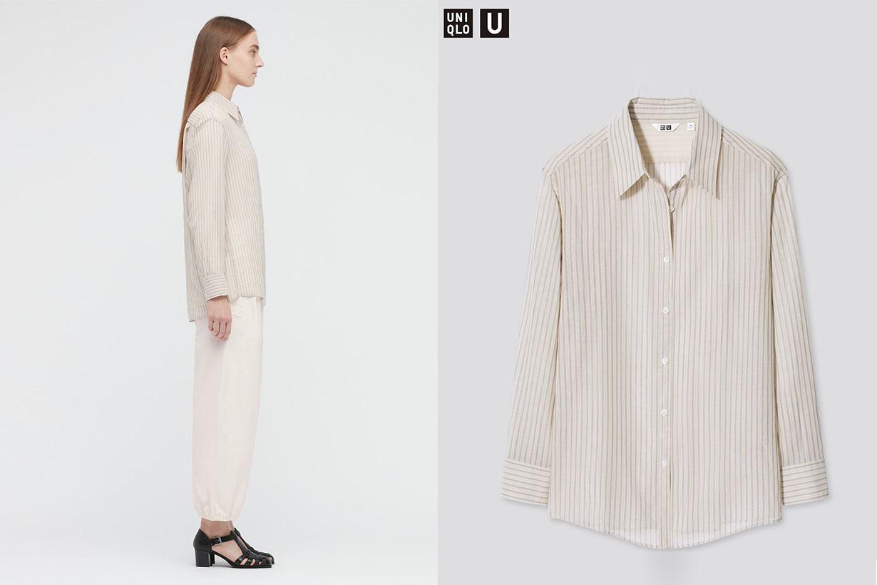 UNIQLO ZARA GU Striped shirts fast fashion trends 2021ss