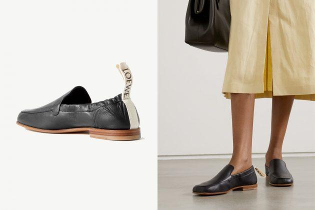 loewe loafers collapsible heel 2021 where buy
