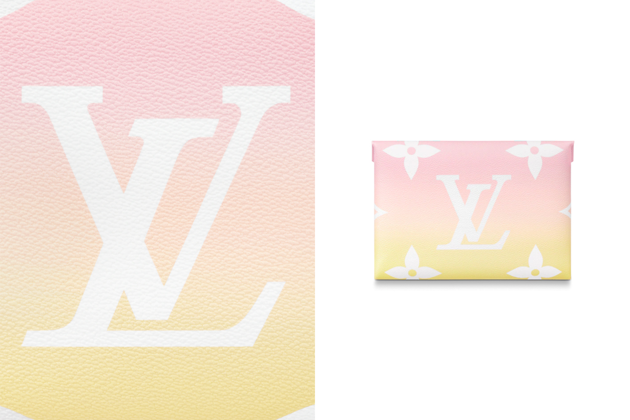louis vuitton Kirigami Pochette affordable small leather goods ipad card 2021 by the pool monogram