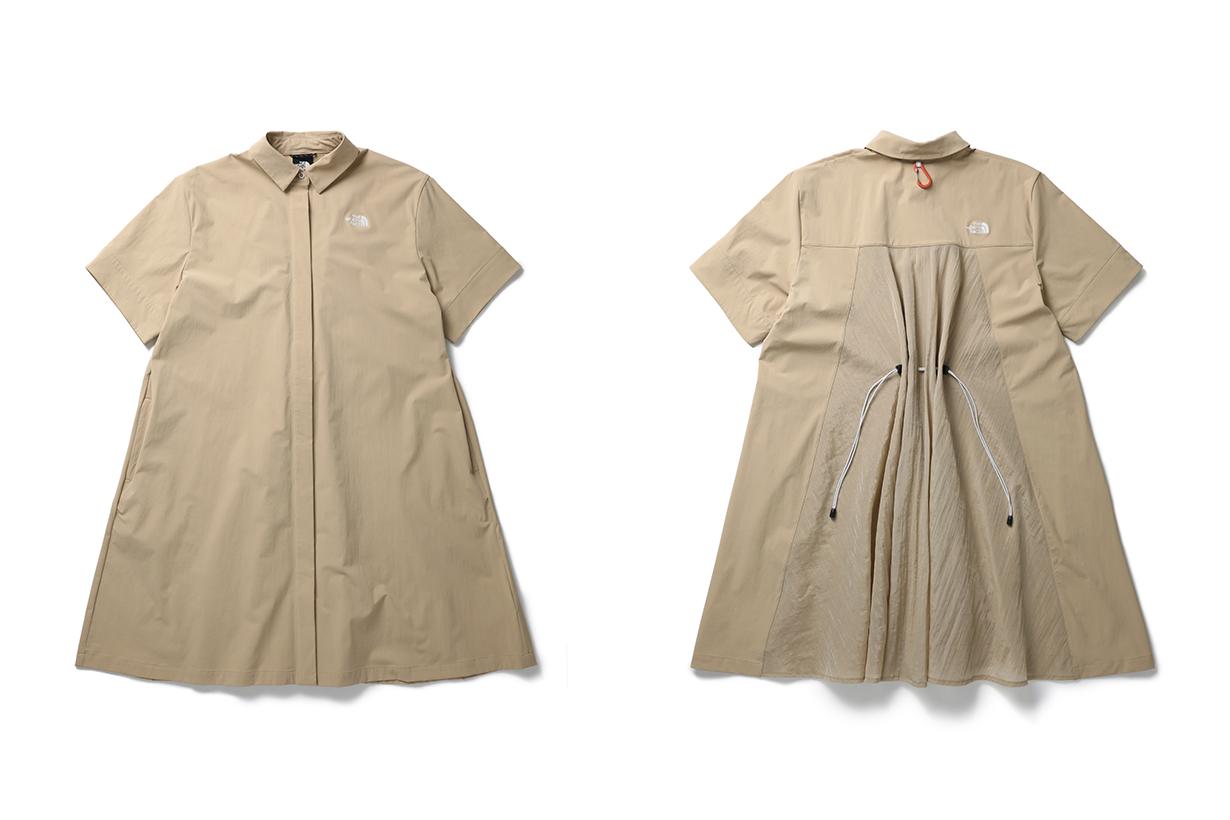 the north face Urban Exploration 2021 ss Packable Gear wind jacket women t-shirt 2021 SS