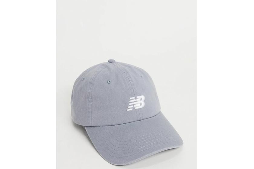 New Balance logo cap in grey