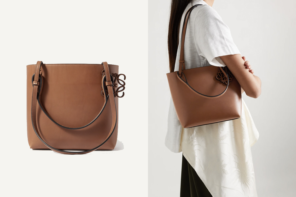 loewe double handle square bag 2021 SS