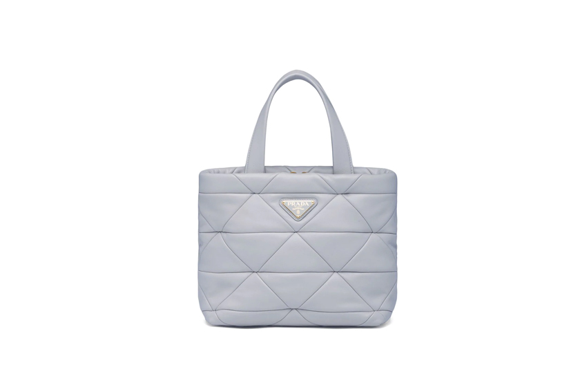 Prada System quilted tote bag