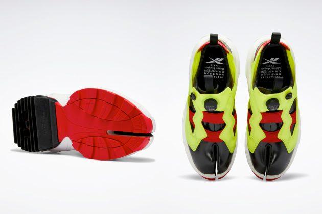 Reebok Maison Margiela Tabi Instapump Fury Oxford Shoes whre buy 2021