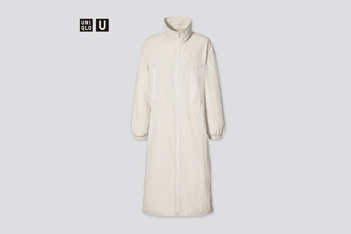 UNIQLO U Nylon hooded coat 2021