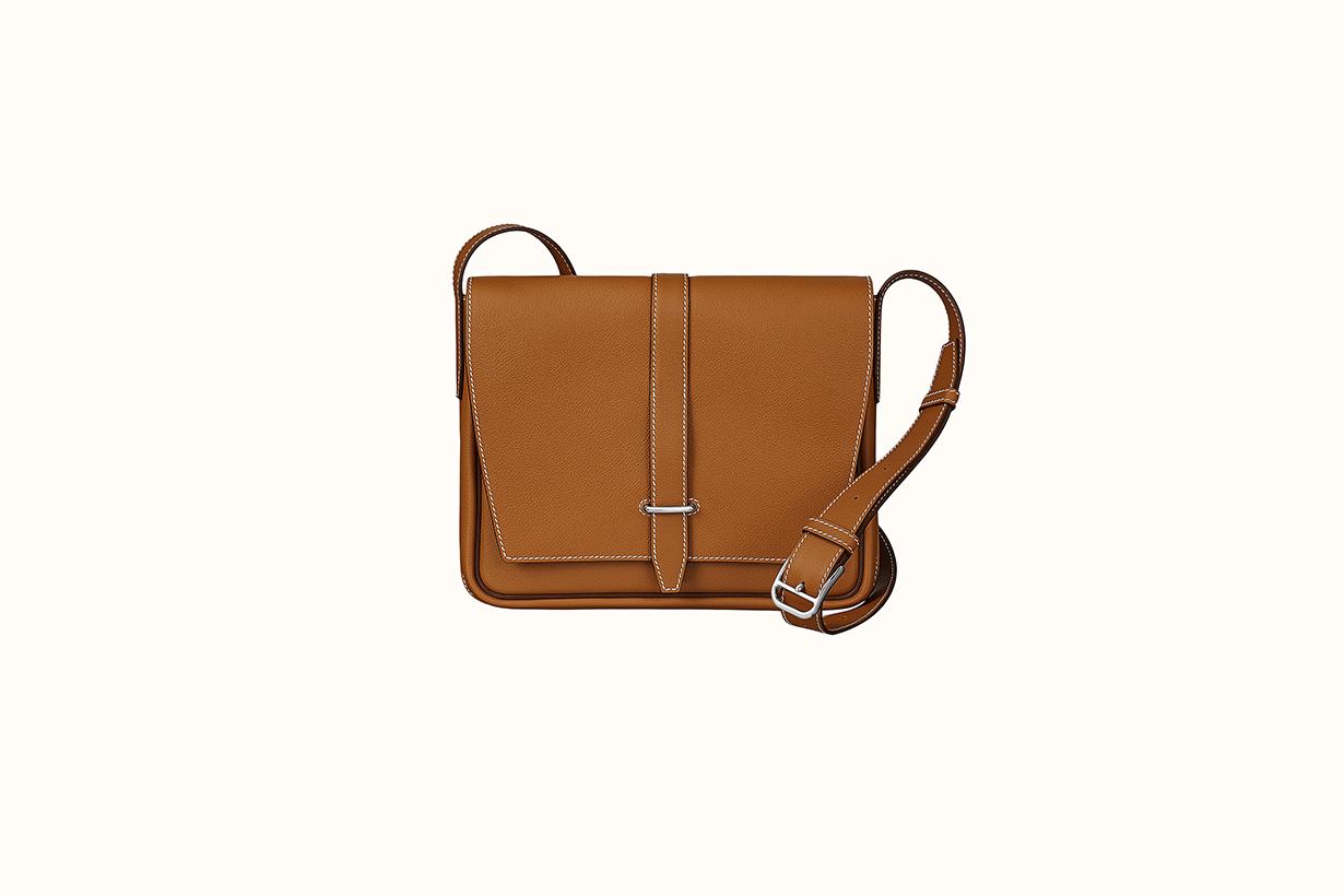 hermes Steve light junior messenger handbags 2021