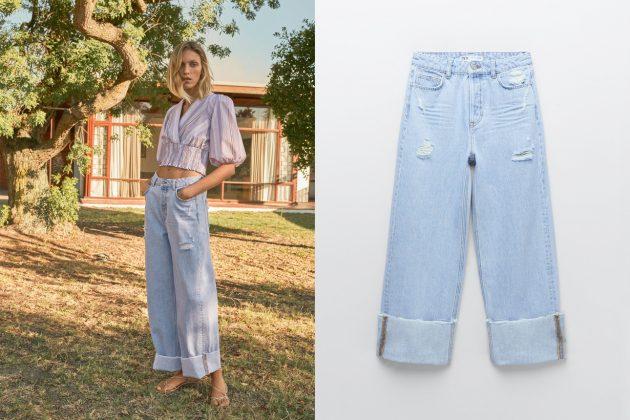 zara jeans zw the '90s z1975 2021