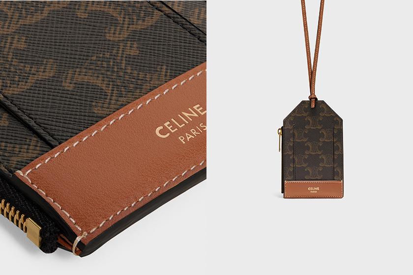 Celine Mini Bag Triomphe 2021 ss Coin Purse Card Holder