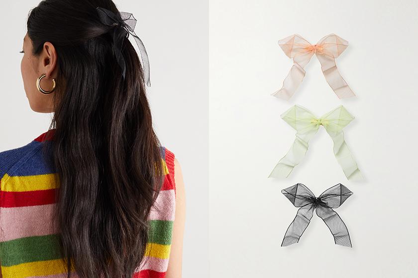 Summer Hair Tie Accessory 2021ss