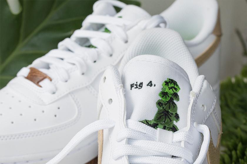 Nike Air Force 1 Plant Dye Summer Sneaker