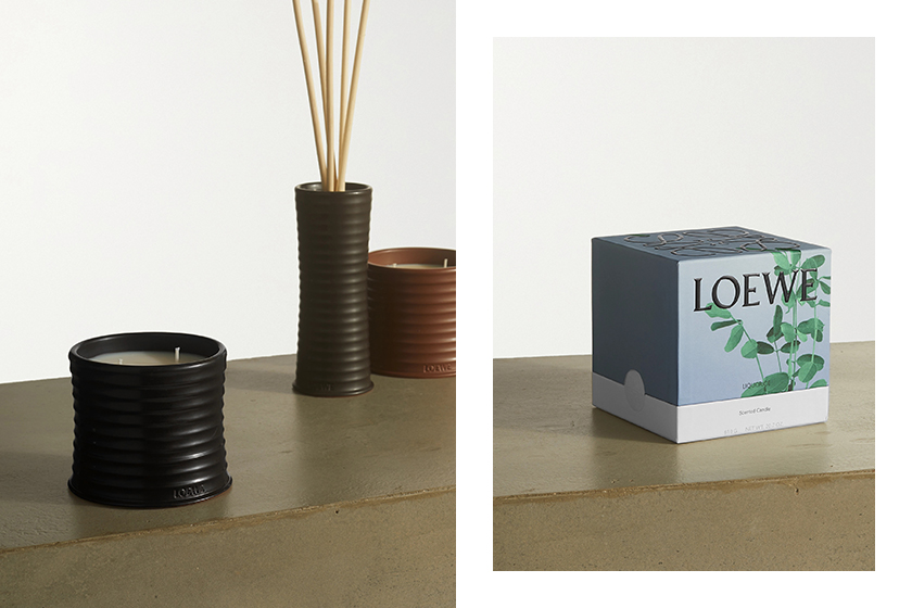 LOEWE Home Scents candles Jonathan Anderson