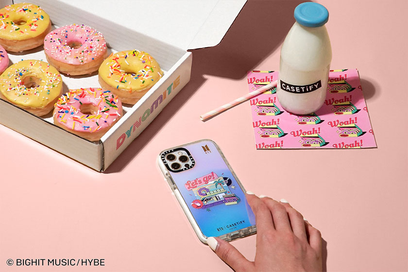 BTS CASETiFY Dynamite iPhone Case Airpods Case Apple Watch