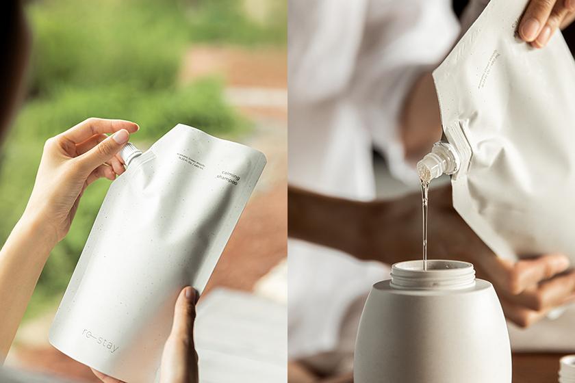 innisfree re-stay Eco-Friendly Body Wash Lotion Shampoo