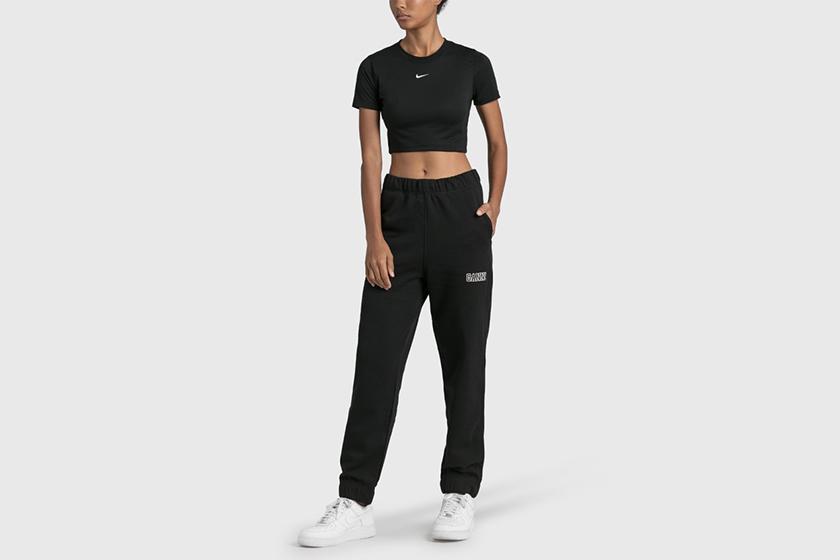 Nike Swoosh Logo T-shirt 2021 summer Tee HBX