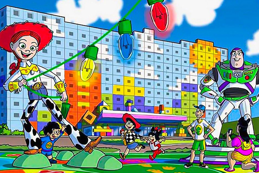 Tokyo Disneyland Toy Story Hotel 2021 open