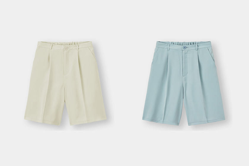 GU Japan Bermuda Shorts 2021 ss