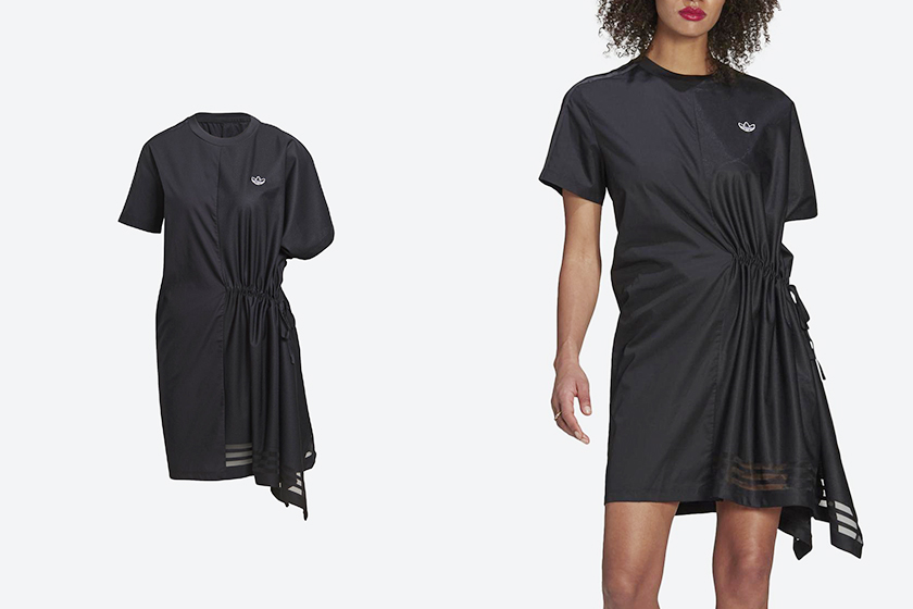 adidas Originals BELLISTA asymmetrical dress 2021 ss