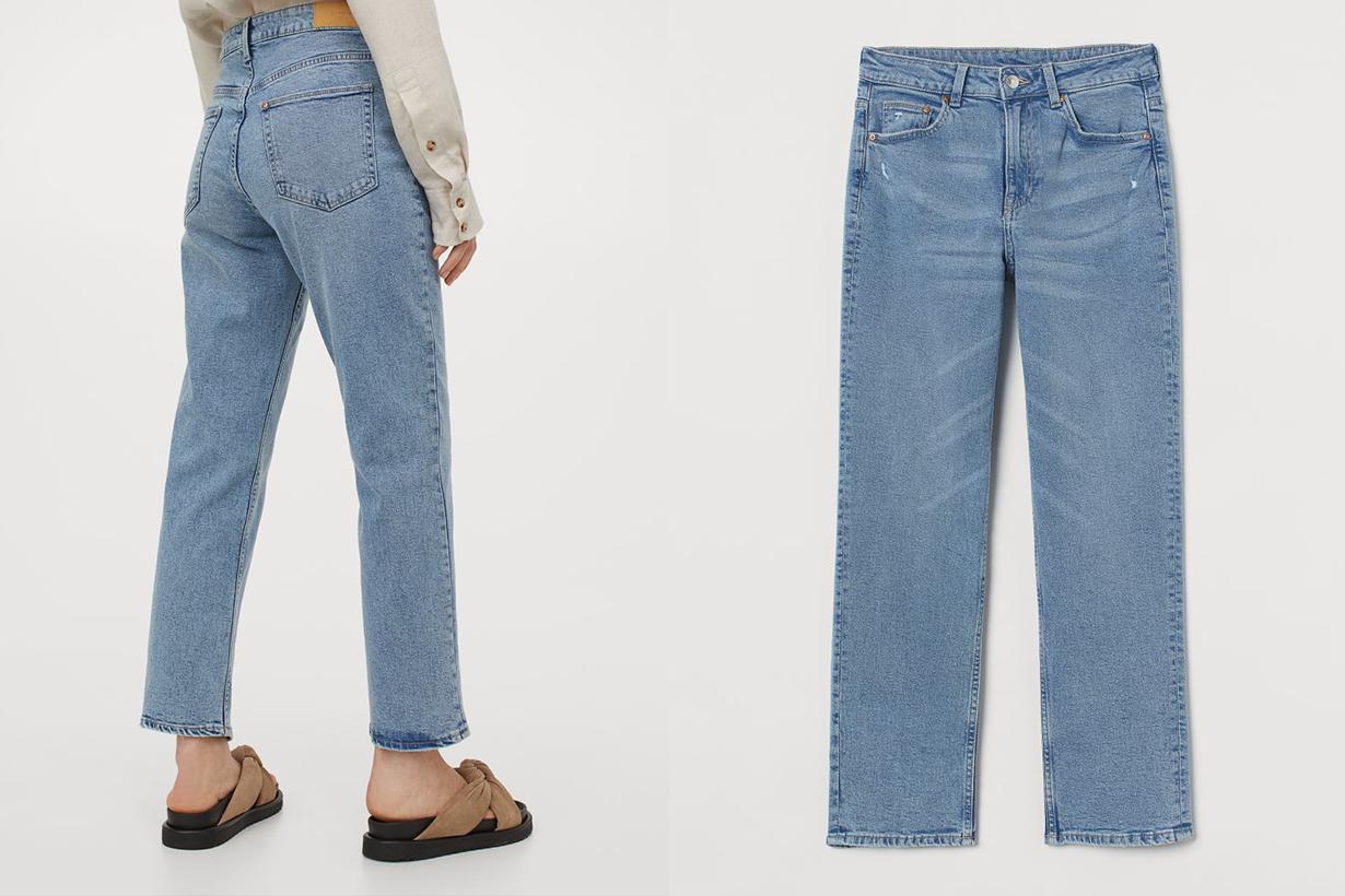 UNIQLO ZARA GU High waist jeans 2021ss