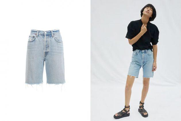 blazer summer how to style need items basic bralette t-shirt jeans denim