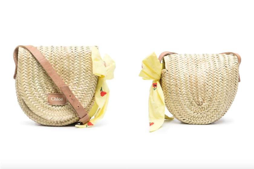 Chloé Kids Woven-bags