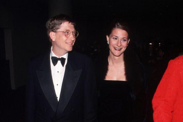 bill gates melinda divorce keep last name