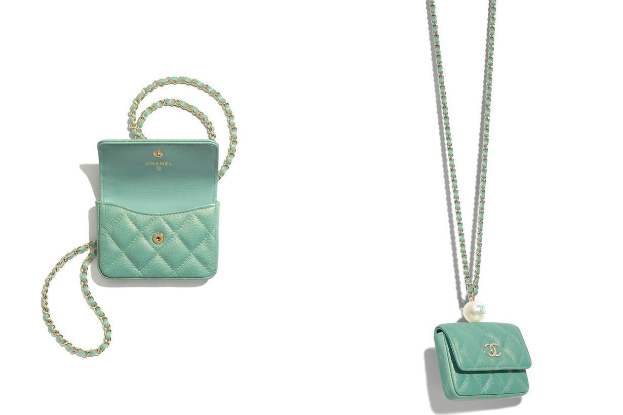 chanel bag handbags 2021ss Flap Coin Purse with Chain