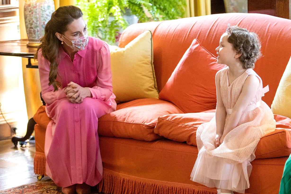 Kate Middleton Duchess of Cambridge Prince William Palace of Holyroodhouse Mila Sneddon leukaemia Hold Still Covid-19 coronavirus British Royal