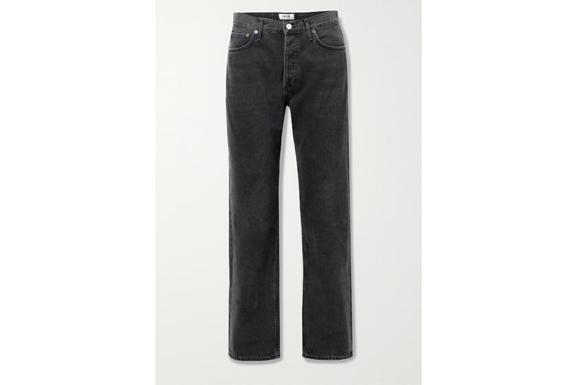 + NET SUSTAIN Lana mid-rise straight-leg jeans