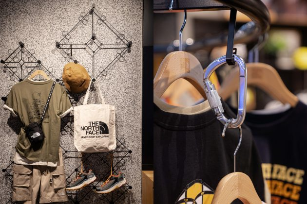 the north face taipei new flagship store limited tee sneakers