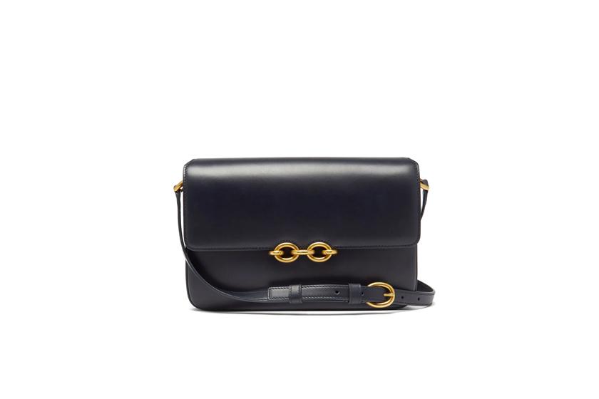 Maillon medium leather shoulder bag
