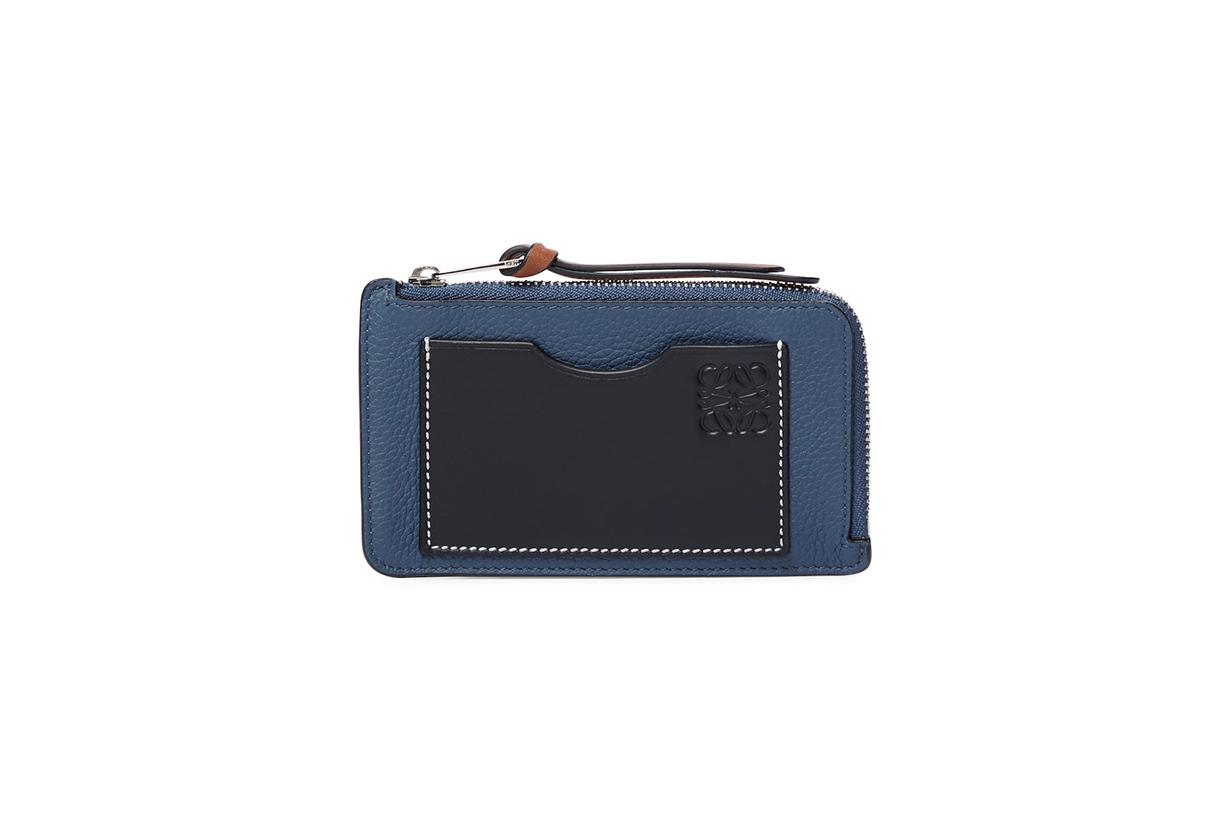 LOEWE Coin card holder wallets