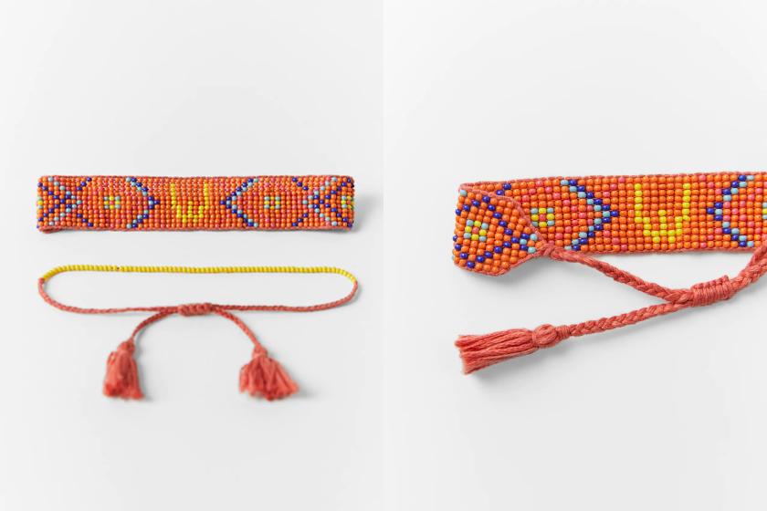 Zara PACK OF INITIALS BRACELETS summer style