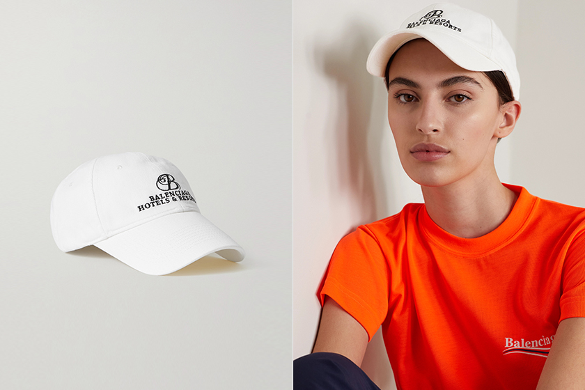 IU Lisa Baseball Cap Dress Outfit Idea 2021 Summer