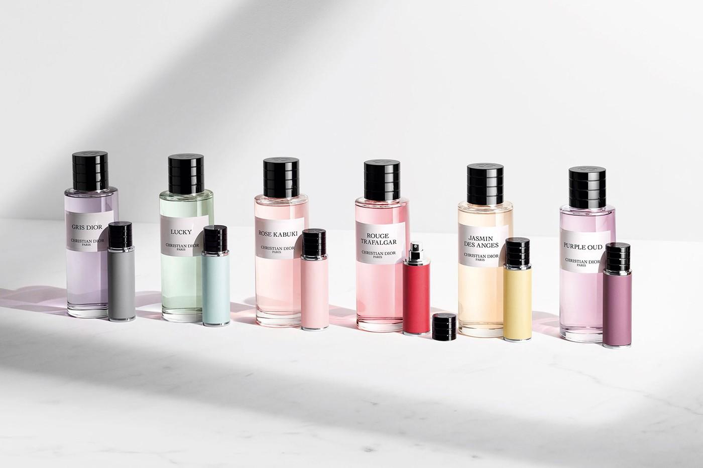 Dior Beauty Purse Spray perfumes refillable bottle