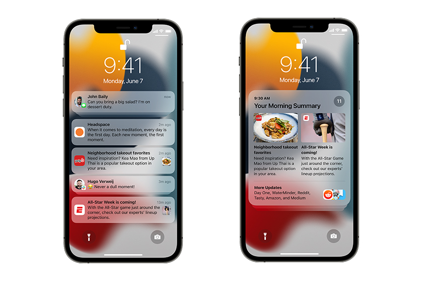 Apple WWDC 2021 iOS 15 new features