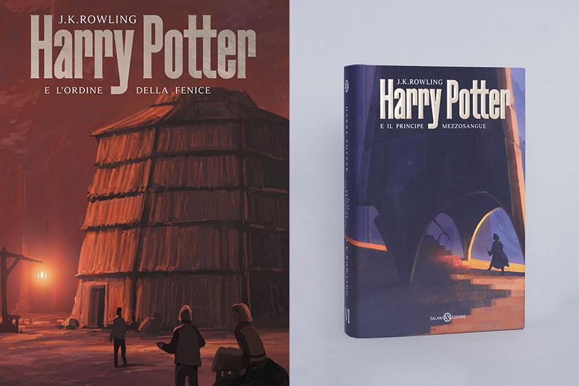 Harry Potter New Italian covers Michele De Lucchi AMDL Circle Andreas Rocha