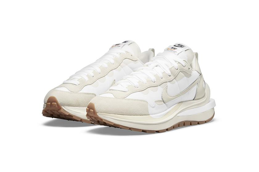 sacai x Nike Vaporwaffle Sail release date White Sneaker