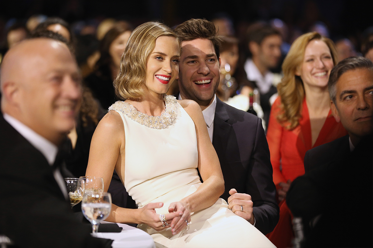 Emily Blunt John Krasinski  A Quiet Place Part II Hollywood Celebrities Couples Marriage Love Relationship Love Story Hollywood Actors Actresses Director