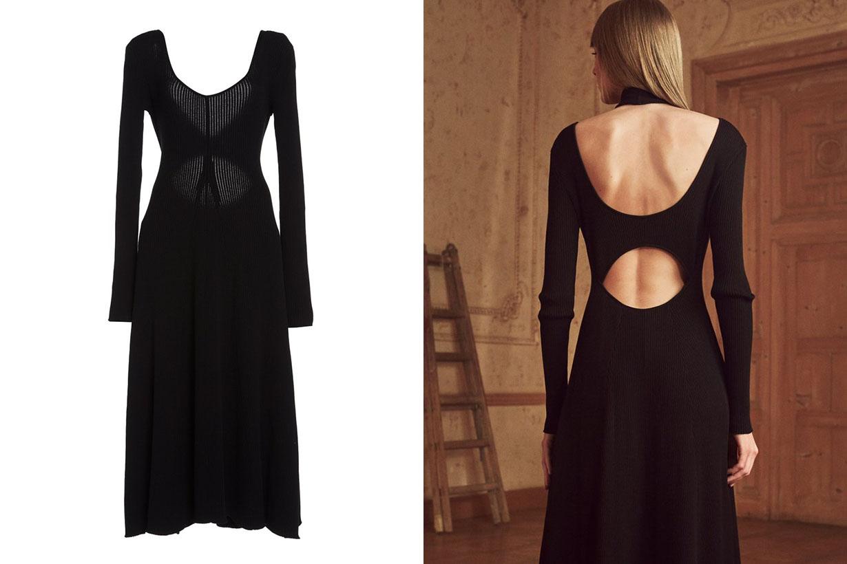 best backless dresses fashion blogger instagram 2021ss